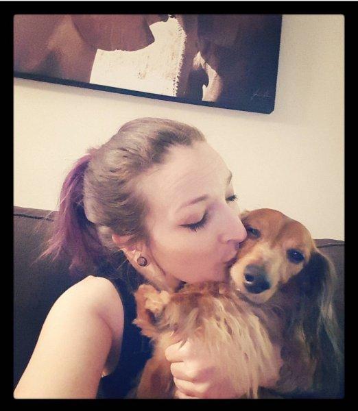 Suzy loves her Dino